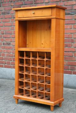 biedermeier-weinregal-kirschholz-flaschenregal-ablageflaeche-schublade-hochglanzpolitur-137x71x32-cm