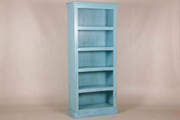 buecherregal-blau-shabby-chic-vintage