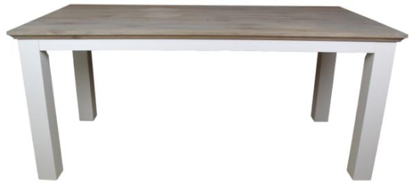 Esstisch Provence Holz Eiche Kiefer Gestell Grau