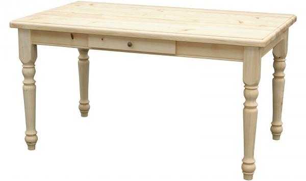 Landhaus-Tisch Sylt Fichte massiv natur geoelt Naturholzmoebel