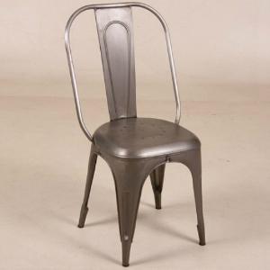 Stuhl im Industrie-Look Vintage Vollmetall