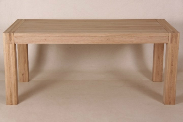 Tisch Yvonne Eiche massiv natur Naturholzmoebel