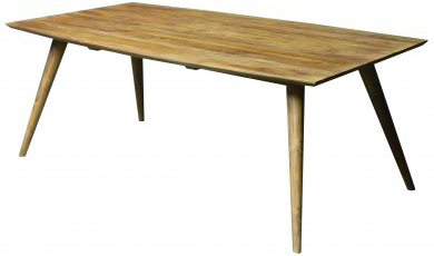 Retro Esstisch aus Teakholz Breite 200 cm