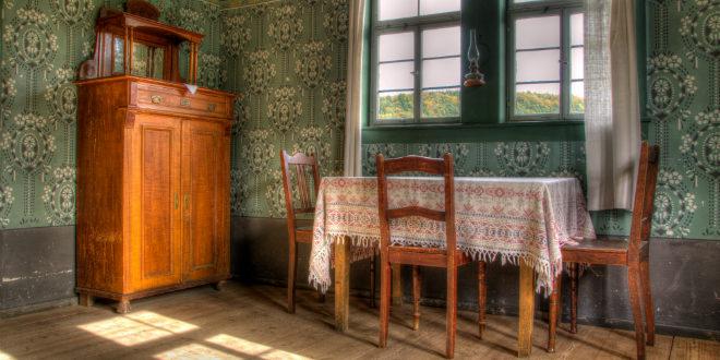 Eisen Antik Weiß Gartenbank im Landhaus Stil Gründerzeit Gartenbank