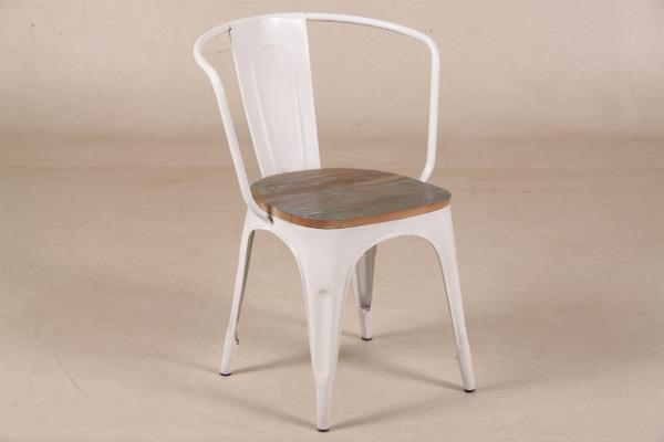 Stuhl im Industrie-Look Vintage