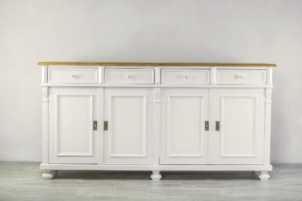 Sideboard Landhausstil weiss