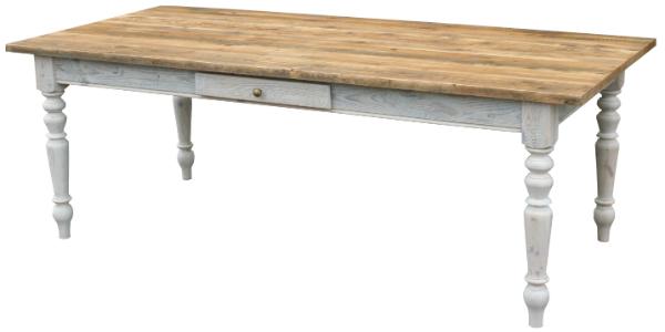 Gruenderzeit Tisch Massivholz Antik Braun Shabby Chic