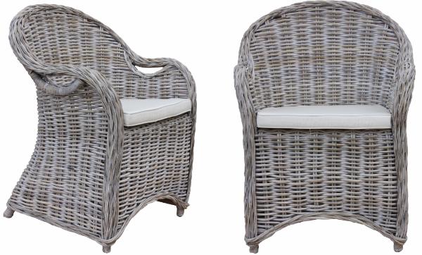Stuhl Parma mit Kissen