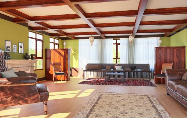landhaus-wohnzimmer