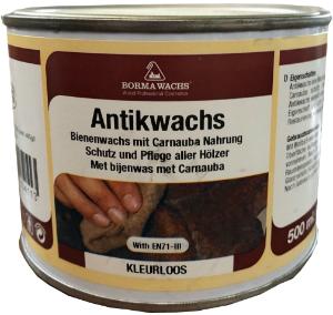 Antikwachs farblos (Bienenwachs mit Carnauba)