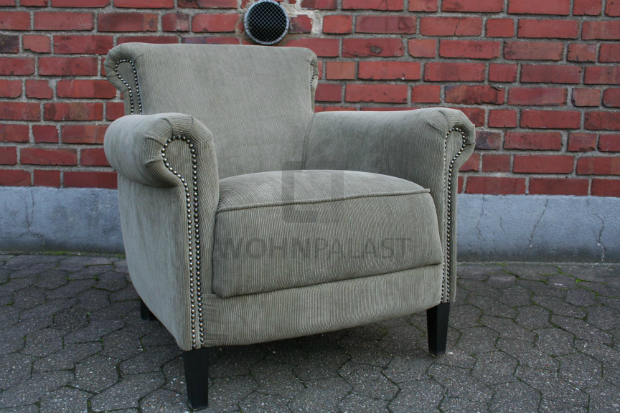 Lounge Sessel aus Cord