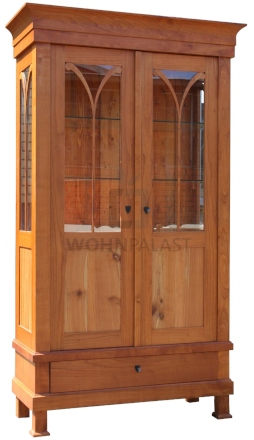 biedermeier-kirschholz-vitrine-geoelt