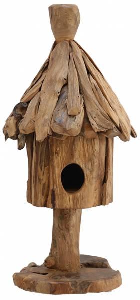 kleines-vogelhaus-stehend-teakholz