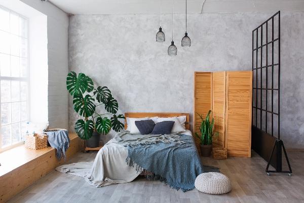 schlafbereich-loftwohnung-einrichten