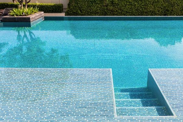 Poolbereich gestalten Mosaik