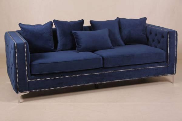 sofa-nala-aus-samtstoff-blau-3-sitzer-mit-kissen