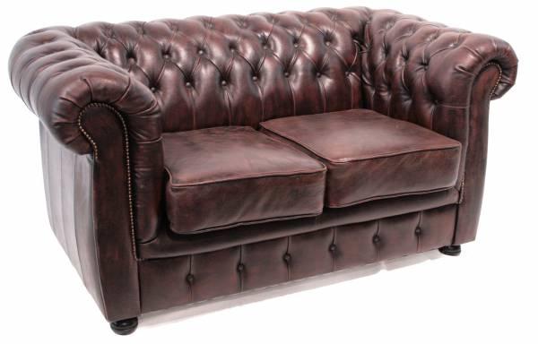 Chesterfield 2er-Sofa