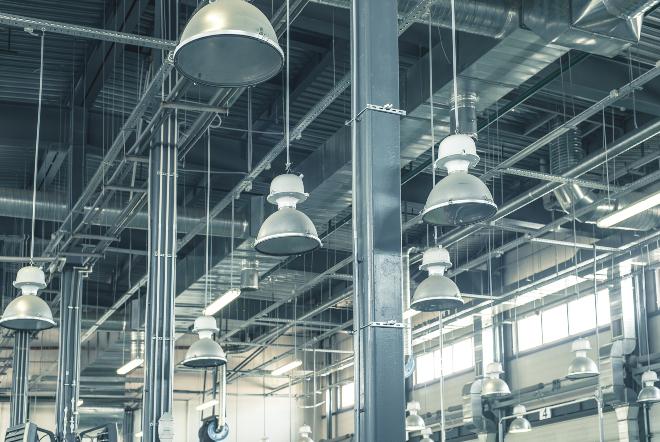 Hängeleuchten im industriellen Stil