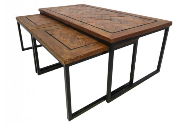 couchtisch-3er-set-flensburg-aus-recyceltem-massivholz-eisen gute-massivholztische