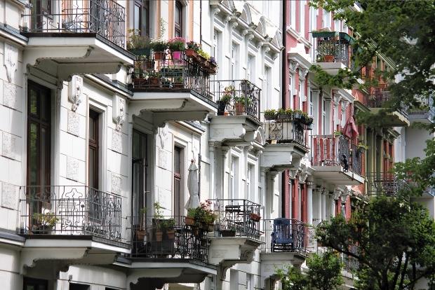 Typische Gründerzeit-Balkons