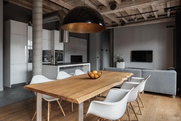 Industrietisch fuer die Wohnung einrichten-mit-industrietischen