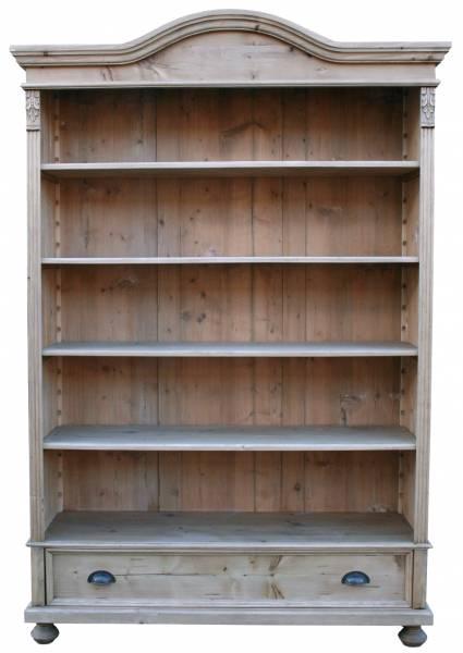 Gründerzeit Weichholz Regal - Vintage - Ladenregale aus Holz