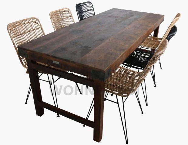 Esstisch Factory 190 cm - Holzmöbel für die Gastronomie