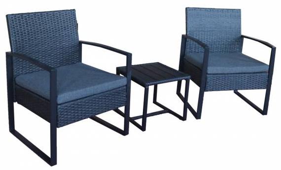 Sitzgruppe Rattan Set 1