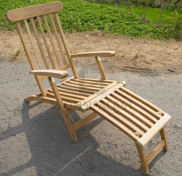 Deckchair Seychellen aus Teakholz