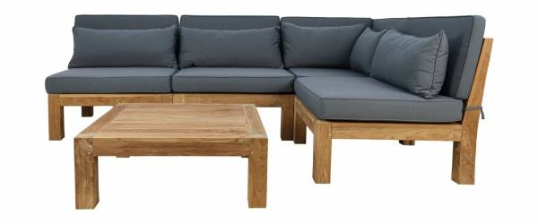 Gartenmoebel Lounge Set Palma 5-teilig
