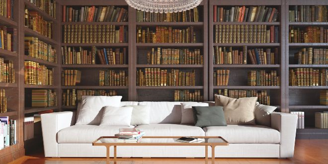 Bücher aufbewahren - Bücherregal