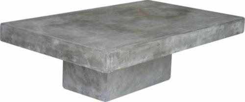 couchtisch-zement-aus-leichtbeton Leichtbeton-Möbel