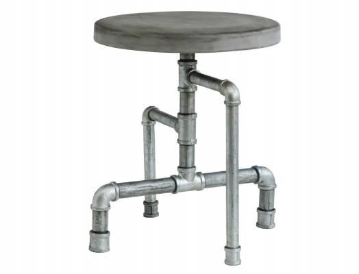 hocker-zement-aus-leichtbeton-metall Leichtbeton-Möbel