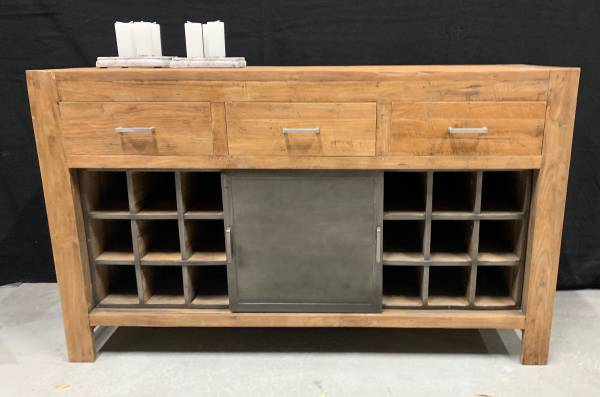 Sideboard Roda Teakholz 150 spirituosen-richtig-lagern