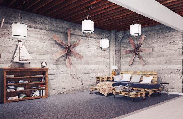 Antike Möbel im Industrial Style