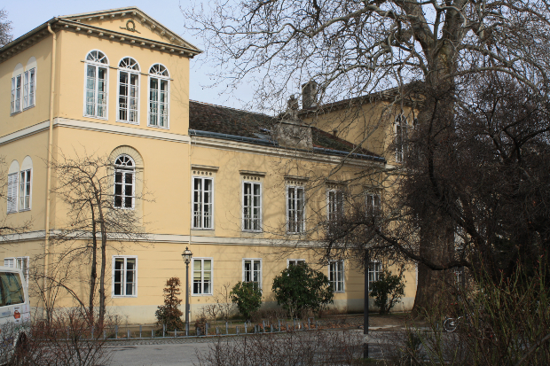Palais Florastöckl in Baden bei Wien, erbaut 1816/17 von Joseph Kornhäusel - Biedermeierstil