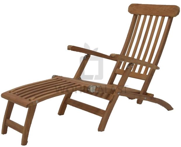 Deckchair Premium Teakholz