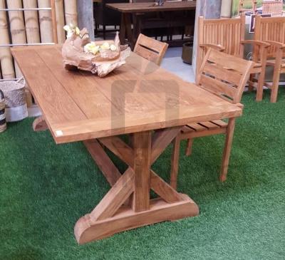 Gartentisch Silang aus Teakholz - - Ideen für die Holzterrasse