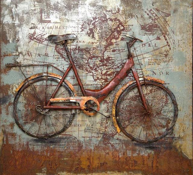 3-D Bild Fahrrad