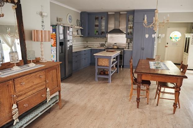 Küchenbereich im Landhaus-Stil