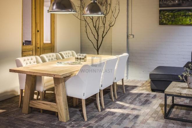 Esstisch Rügen - altes Eichenholz 40mm - Tisch-Unikate