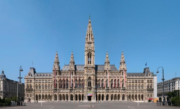 Das neogotische Wiener Rathaus