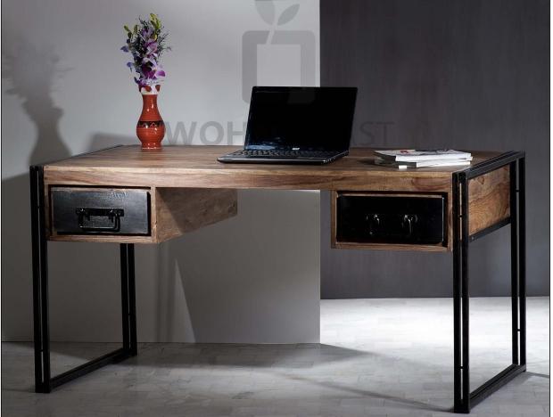 Schreibtisch Panama aus Sheeshamholz