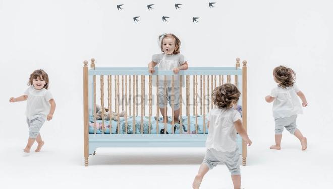 Swallow`s Tail Babybett Sofia - Kinderschlafzimmer
