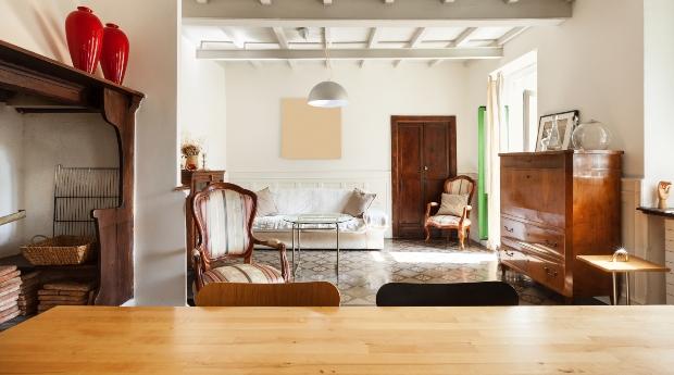 Holzmöbel Interieur