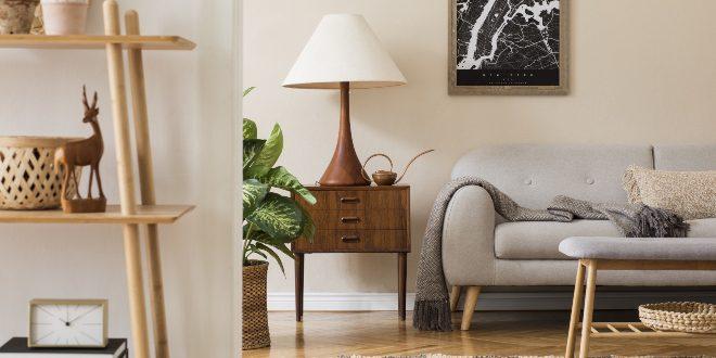 Holzmöbel in der Wohnung - Holzarten kombinieren