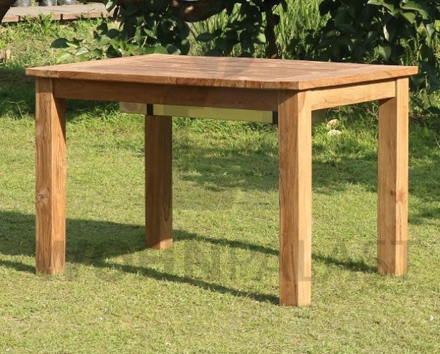 5-teiliges Teakholz Gartenmöbel Set Caleta