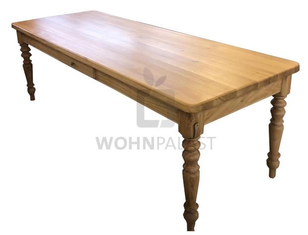 Esstisch Eiche - Modell Gründerzeit - Massivholz Tisch - Platte 40mm
