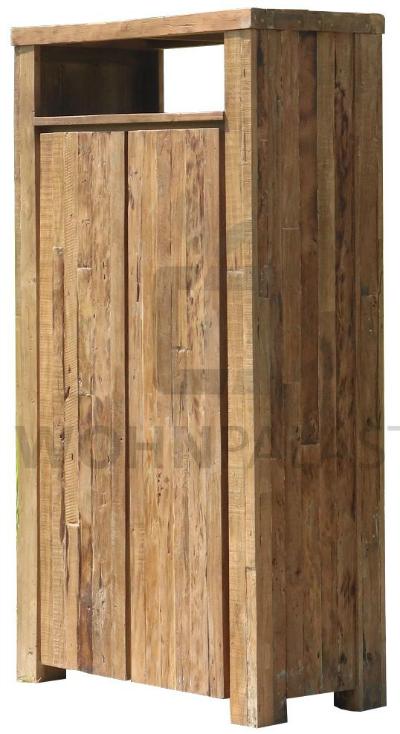 Sideboard Byron aus massivem Mangoholz/Eisen