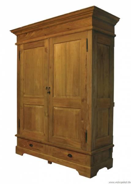 kleiderschrank kolonial teak. Black Bedroom Furniture Sets. Home Design Ideas